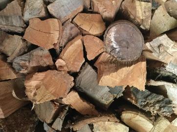 Holzscheite