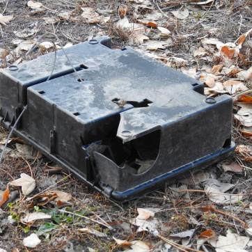 Rattenköderbox zerbrochen