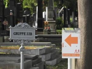 Laufroute am Zentralfriedhof